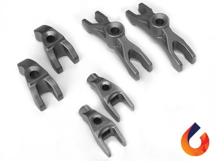 injector clamp casting