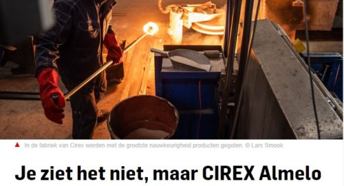 Press release news paper: even if you don't see it, CIREX is everywhere..